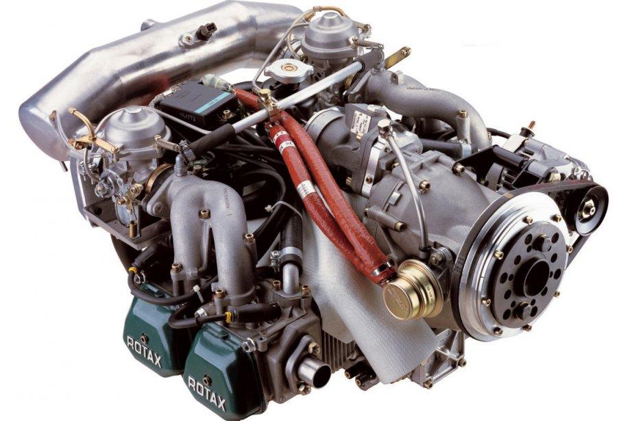 Le moteur Rotax 912 ULS, unprédécesseur au Rotax... (Photo fournie par Rotax)