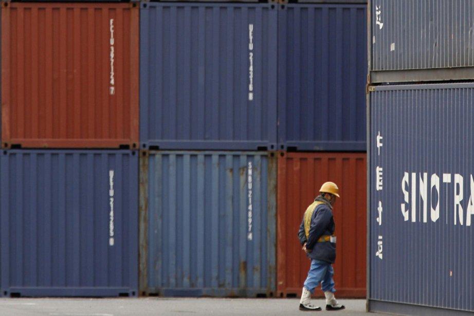 Le déficit commercial des États-Unis a affiché une forte... (Photo Reuters)