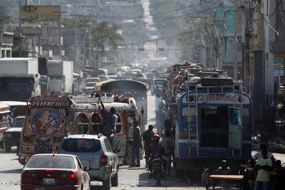 En Haïti, vous pouvez vous déplacer partout, selon... (Photo Martin Chamberland, La Presse)
