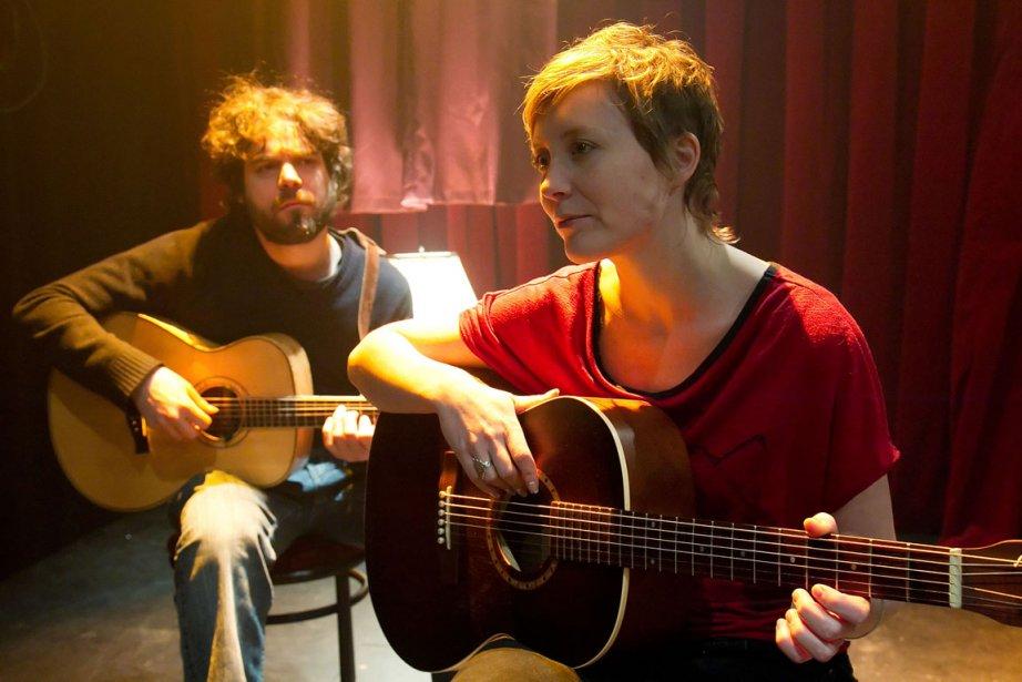Pierre-Luc Brillant et Isabelle Blais tiennent les rôles... (Photo: Hugo-Sébastien Aubert, La Presse)