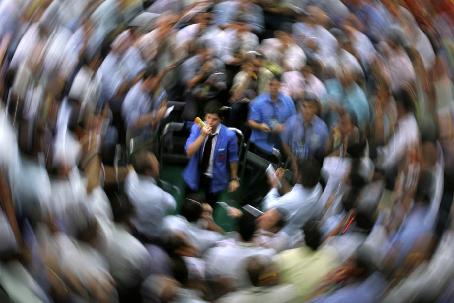 Depuis le début de l'année, la Bourse de... (Photo archives AFP)