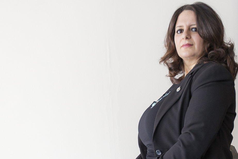 Sana Hassainia, députée du NPD... (Photo Olivier Pontbriand, La Presse)