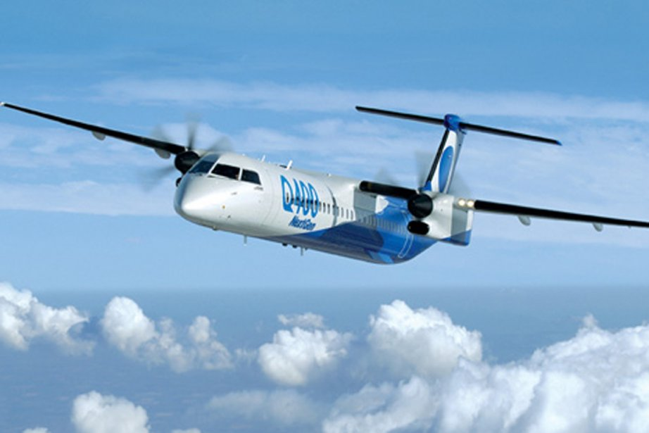 Un Q400 NextGen de Bombardier.... (Photo fournie par Bombardier)