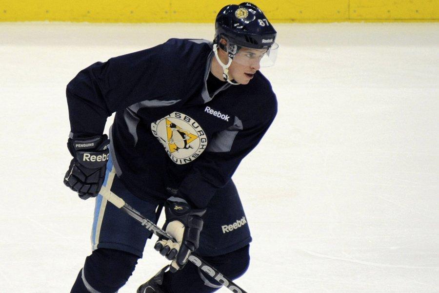 Sidney Crosby a de nouveau patiné avec ses... (Photo: Reuters)