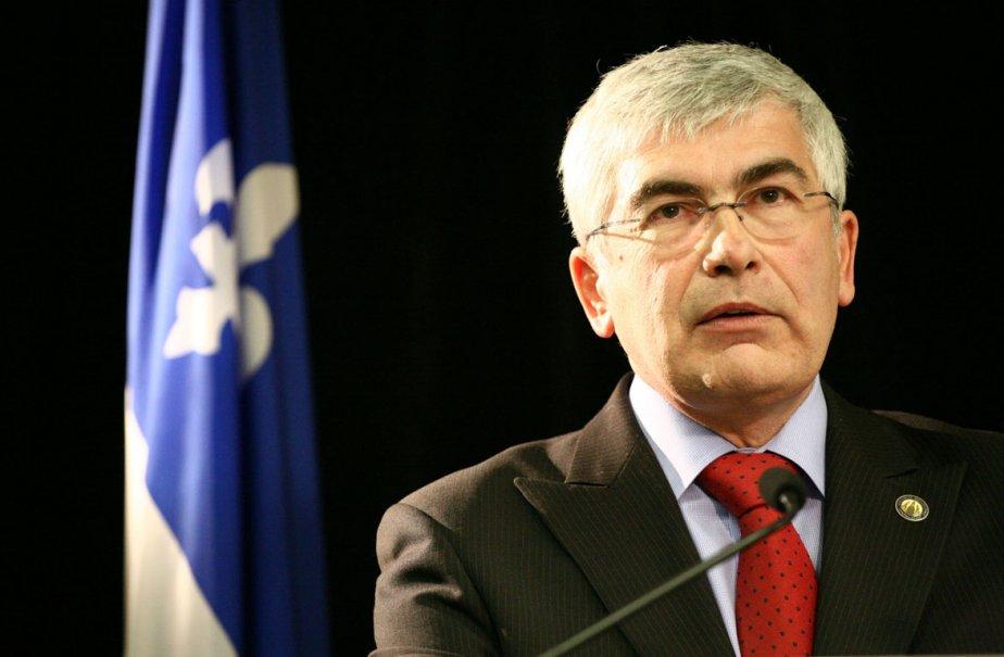 Le ministre des Ressources naturelles, Clément Gignac.... (Photo: Alain Dion, La Voix de l'Est)