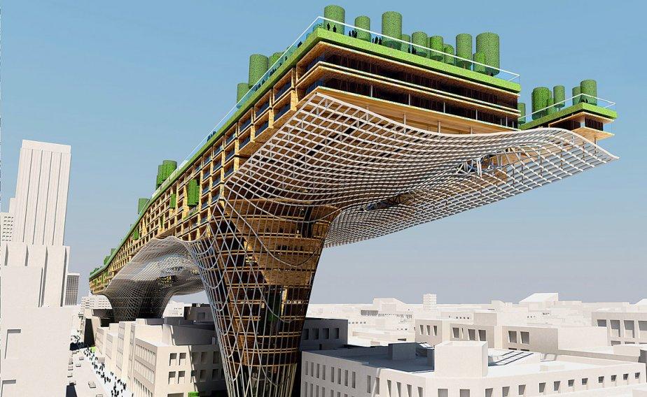 Les stars de b ton et d 39 acier cyberpresse for Architecture russe
