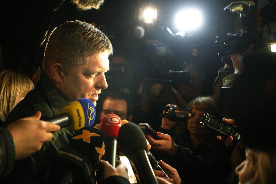 Le parti social-démocrate Smer-SD de l'ex-premier ministre Robert... (Photo : Petr Josek, Reuters)
