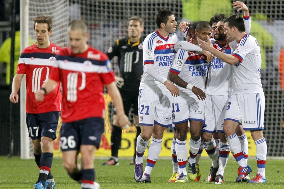 Lyon   s'est relancé pour le gain... (Photo : Robert Pratta, Reuters)