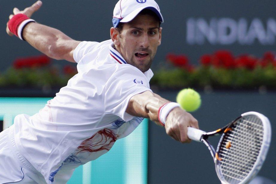 Novak Djokovic, le favori et no 1 mondial... (Photo : Danny Moloshok, Reuters)