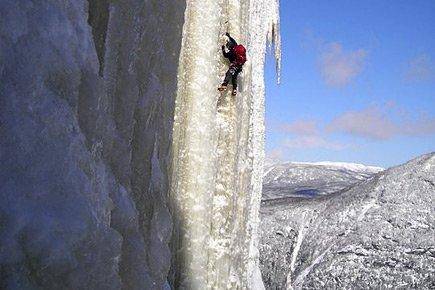 L'accident s'est produit dans une célèbre voie d'escalade... (Collaboration spéciale Charles Roberge)