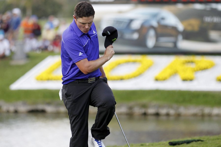 Justin Rose a remis une carte de 70... (Photo: Reuters)