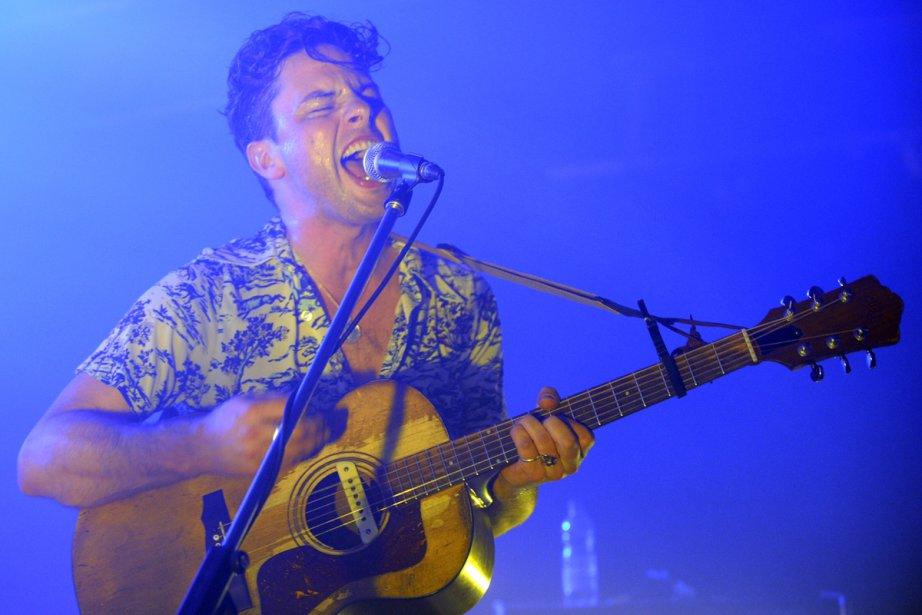 Le chanteur et guitariste Warren Spice, de Plants... (Photo: Bernard Brault, La Presse)