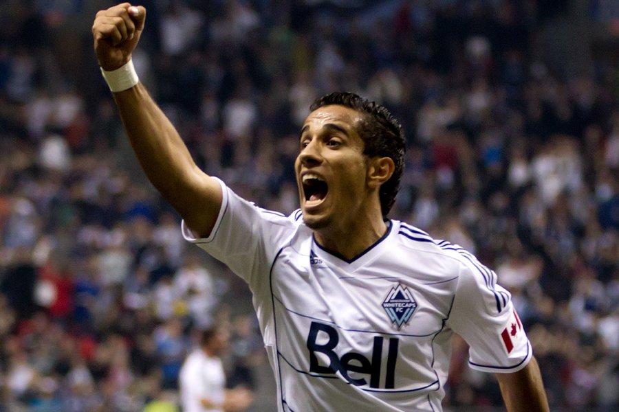 Camilo Sanvezzo célèbre après avoir marqué le deuxième... (Photo: PC)
