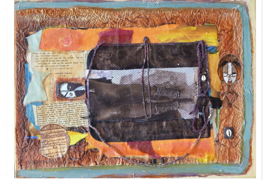 Oeuvre de l'artiste canadienne d'origine burkinabée Hawa Kaba... (Photo fournie par Hawa Kaba)