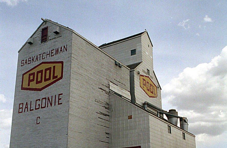 Un silo à grain en Saskatchewan.... (Photo La Presse Canadienne)