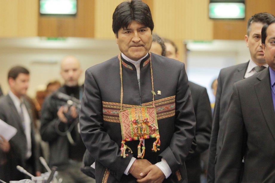 La Bolivie a décidé de se retirer en... (Photo: Dieter Nagl, AFP)