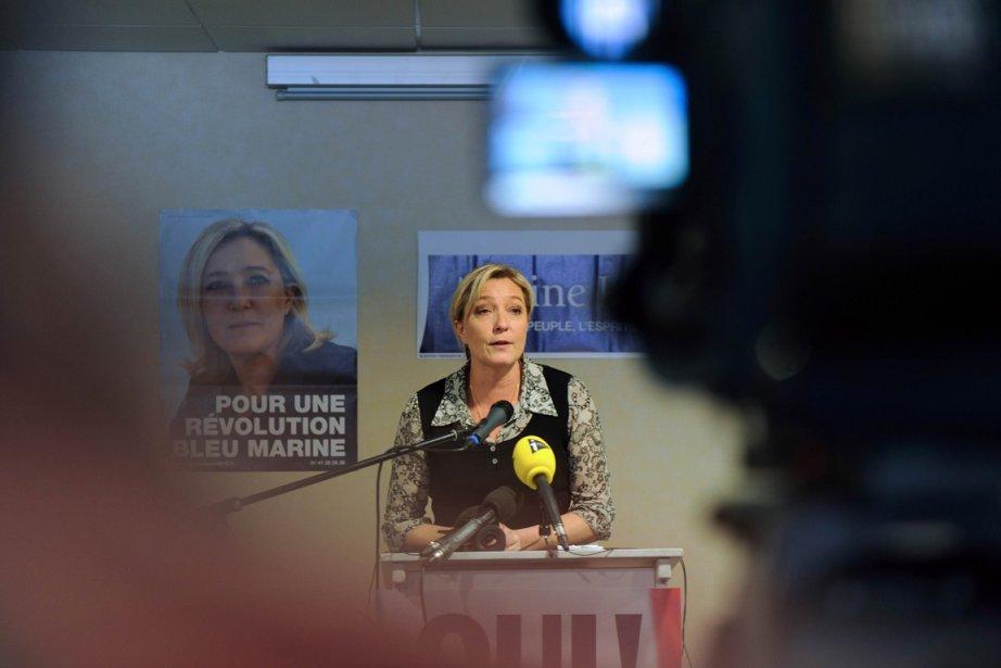 Marine Le Pen aindiqué dimanche qu'il lui manquait... (Photo:  Éric Cabanis, AFP)