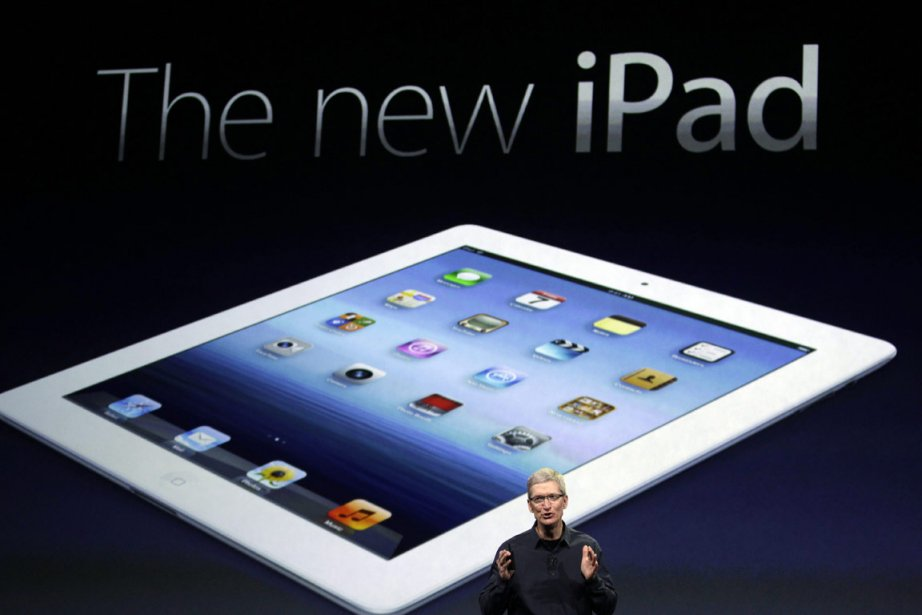Le nouvel iPad dispose d'un processeur quatre coeurs,... (Photo: AP)