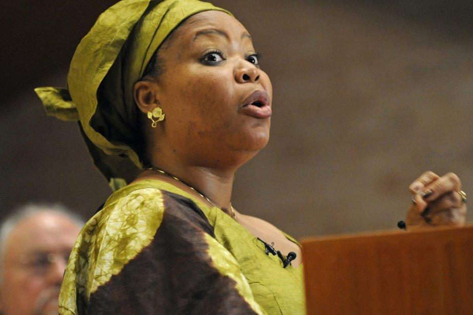 Une cinquantaine de personnalités dont la LibérienneLeymah Gbowee,Nobel... (Photo:  Louis Lanzano, Archives AP)
