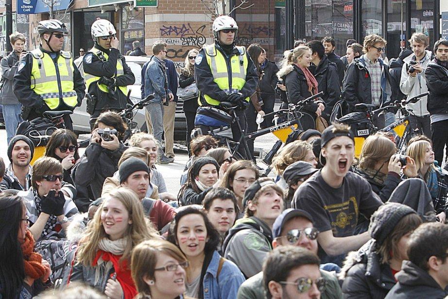 L'État québécois demande une contribution additionnelle des étudiants,... (Photo Patrick Sanfaçon, La Presse)