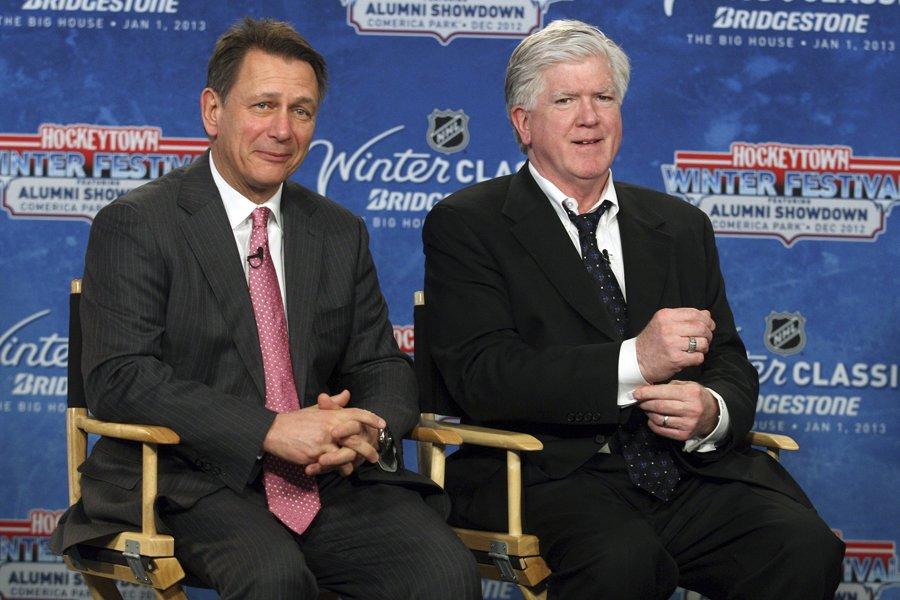 Le directeur général des Red Wings de Detroit,... (Photo: archives Reuters)