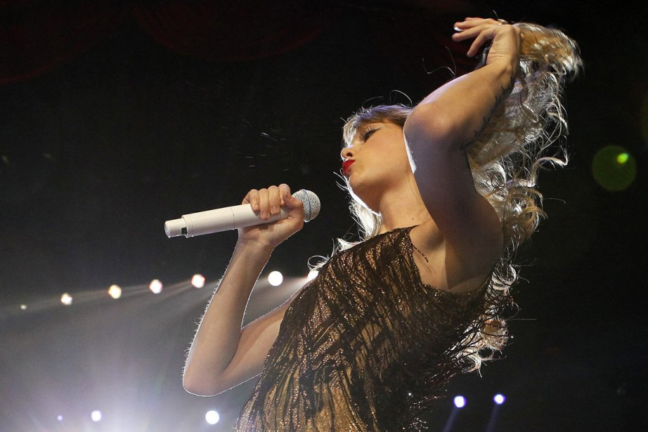 Taylor Swift est l'artiste qui a... (Photo: Theron Kirkman, Associated Press)