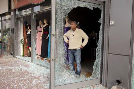 Au total, depuis vendredi, près de 150 projectiles... (Photo: Reuters)