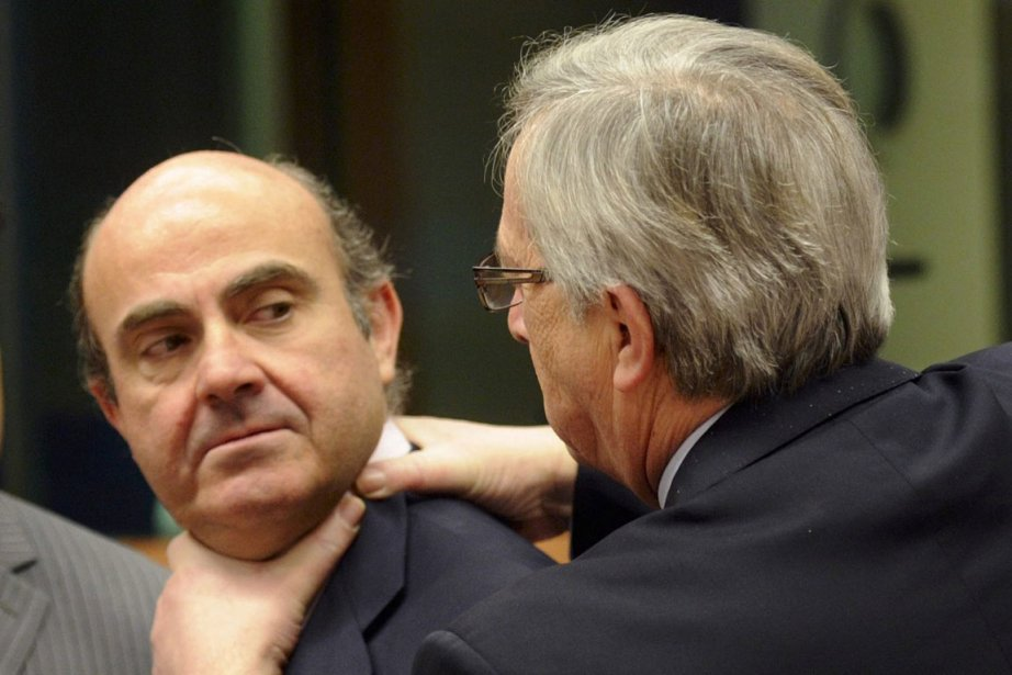 À la blague, le premier ministre du Luxembourg,... (Photo AP)