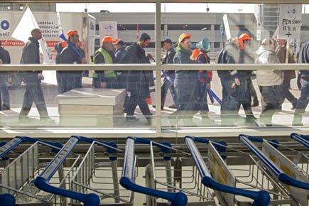 Les employés touchés sont les quelque 3000 pilotes... (Photo: Ivanoh Demers, La Presse)