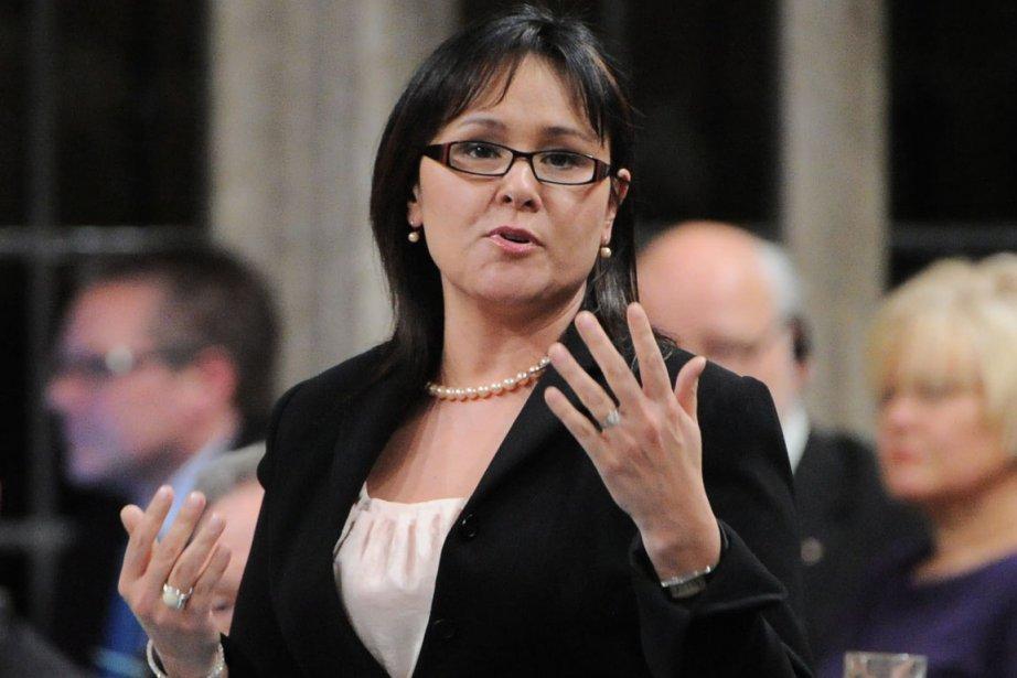 Questionnée par l'opposition, la ministre conservatrice de la... (Photo: Sean Kilpatrick, PC)