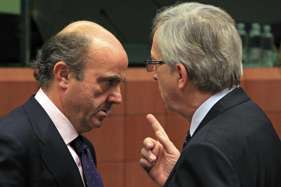 Le ministre espagnol des Finances Luis de Guindos... (Photo Reuters)