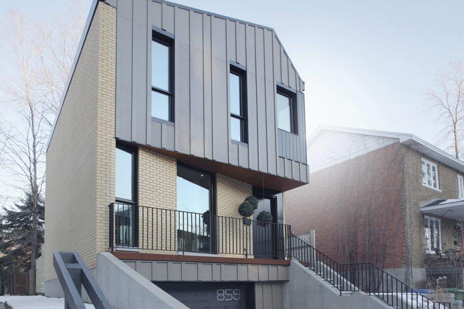 L'architecte Olivier Bourgeois a conçu cette habitation de... (Photo: Alexandre Guilbeault pour Bourgeois/Lechasseur Architectes)