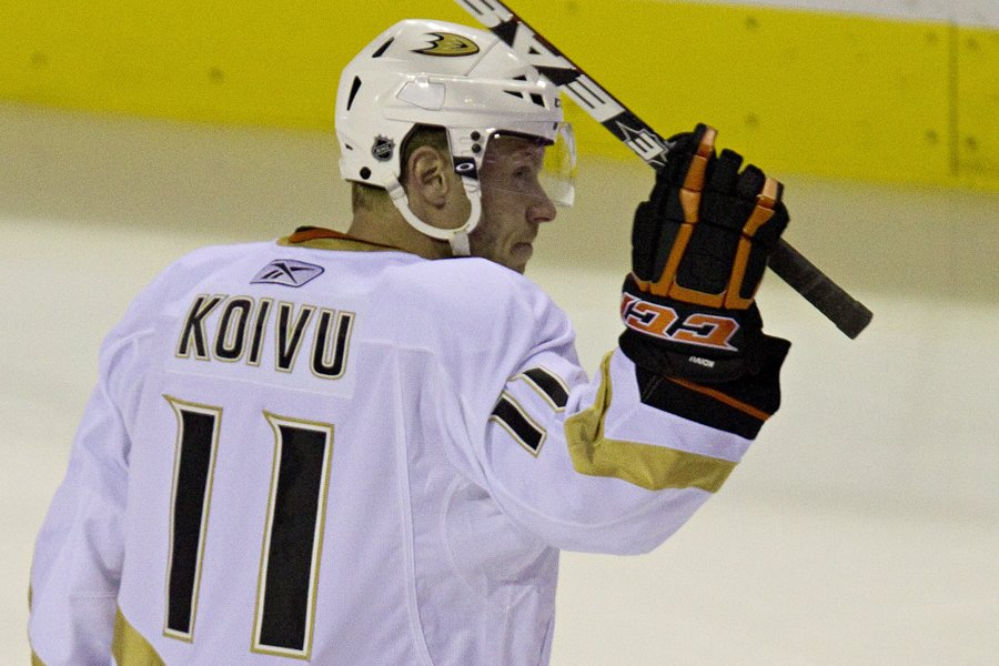Saku Koivu... (Photo: David Boily, archives La Presse)