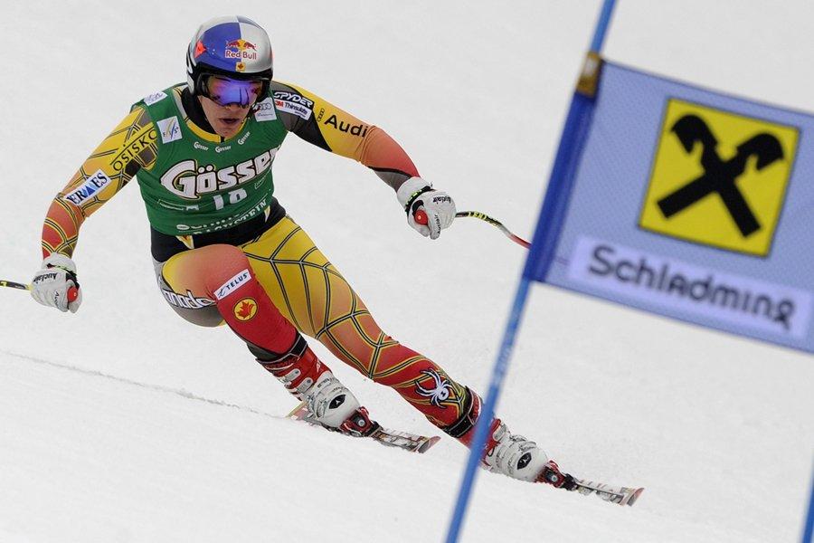 Erik Guay... (Photo: AFP)