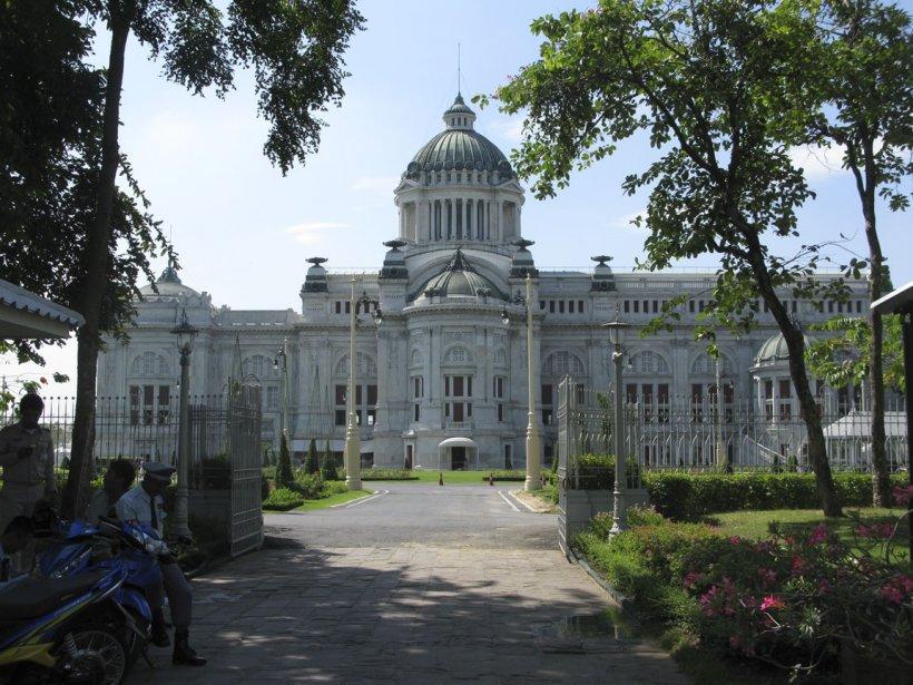 L'édifice Ananda Samakom abrite la salle du trône. | 13 mars 2012