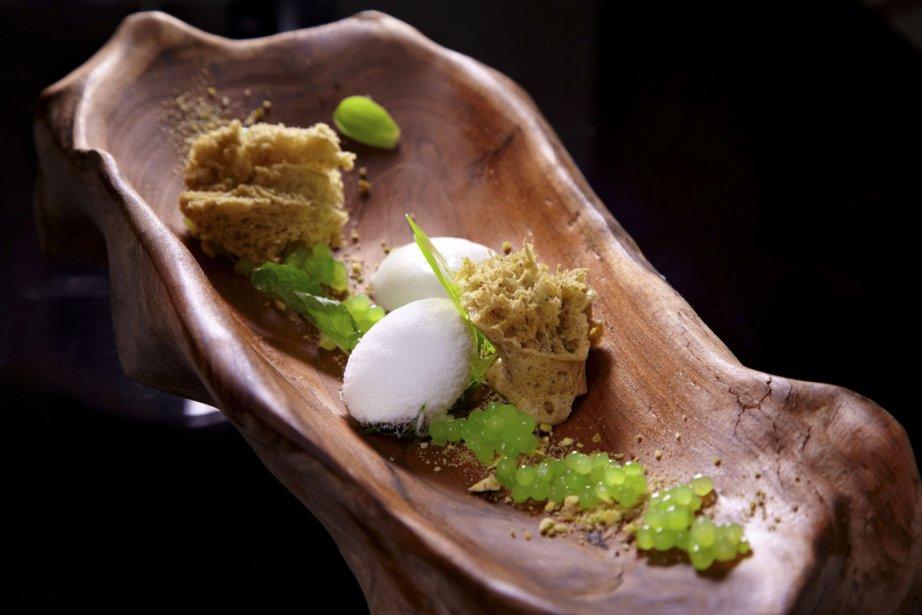 La présentation des plats au Sra Bua est très raffinée. | 13 mars 2012