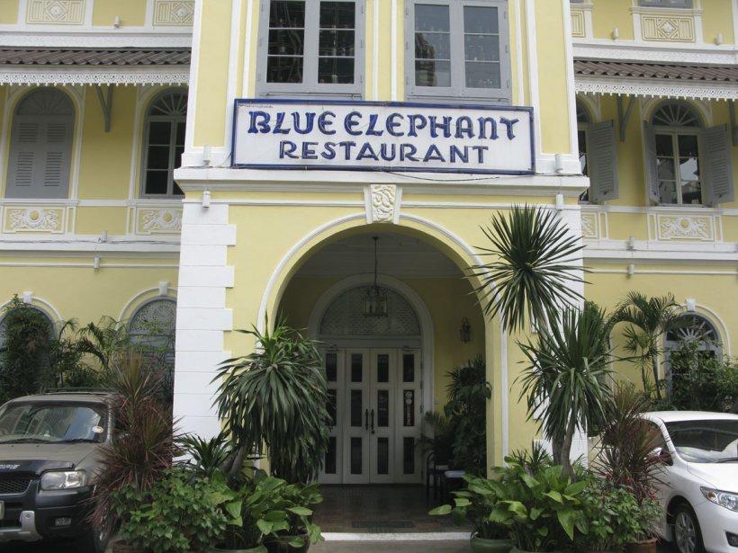 Le restaurant Blue Elephant. | 13 mars 2012