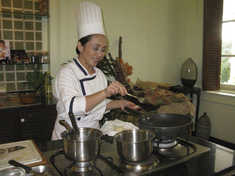 Les cours de cuisine du Blue Elephant sont une activité touristique très prisée. | 13 mars 2012