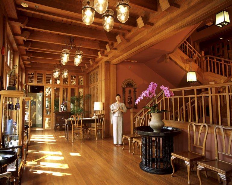 L'Oriental Spa loge dans une belle maison de teck. | 13 mars 2012