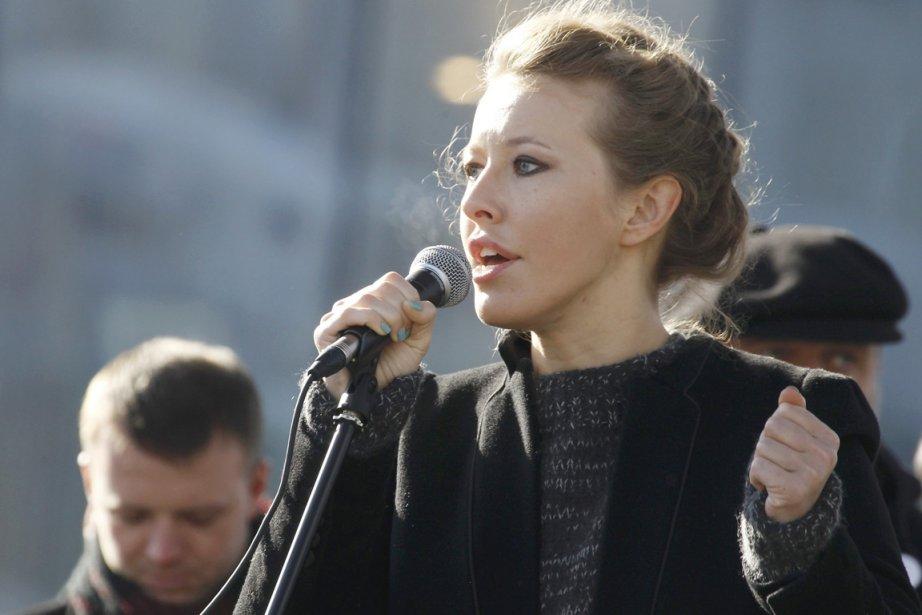 La Paris Hilton russe Ksenia Sobtchak est devenue... (Photo: Sergei Karpukhin, Reuters)
