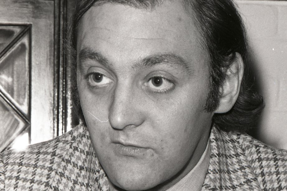 Gilles Gagné en 1971... (Photo: Archives La Presse)