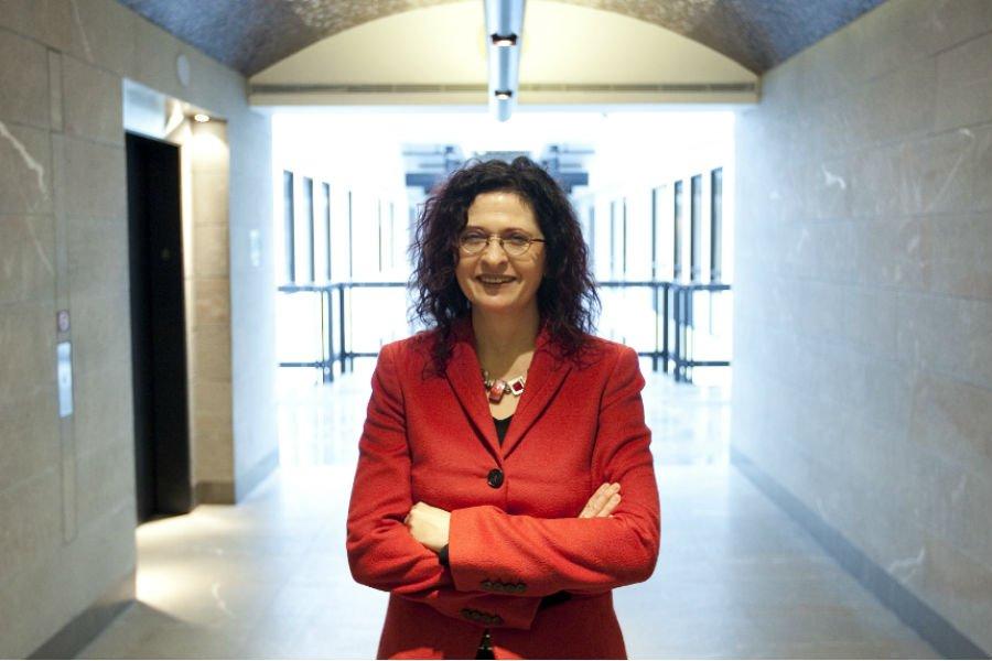 Michelle Savoie, directrice générale de l'entreprise Montréal InVIvo.... (Photo Marco Campanozzi, La Presse)