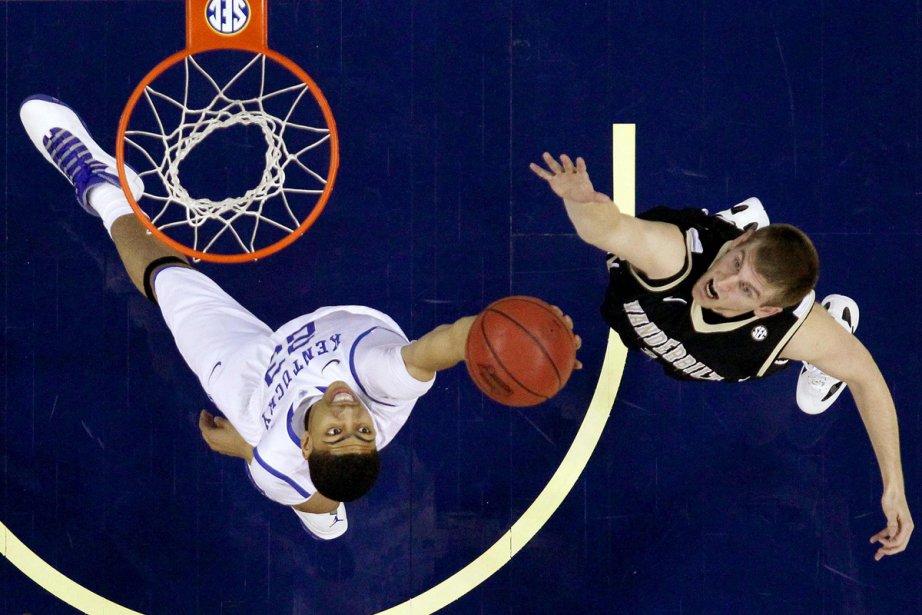 Anthony Davis des Wildcats de l'Université du Kentucky.... (Photo: Jonathan Bachman, Reuters)