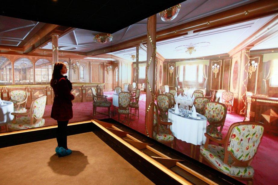 un mus e titanic belfast pour les 100 ans du paquebot. Black Bedroom Furniture Sets. Home Design Ideas