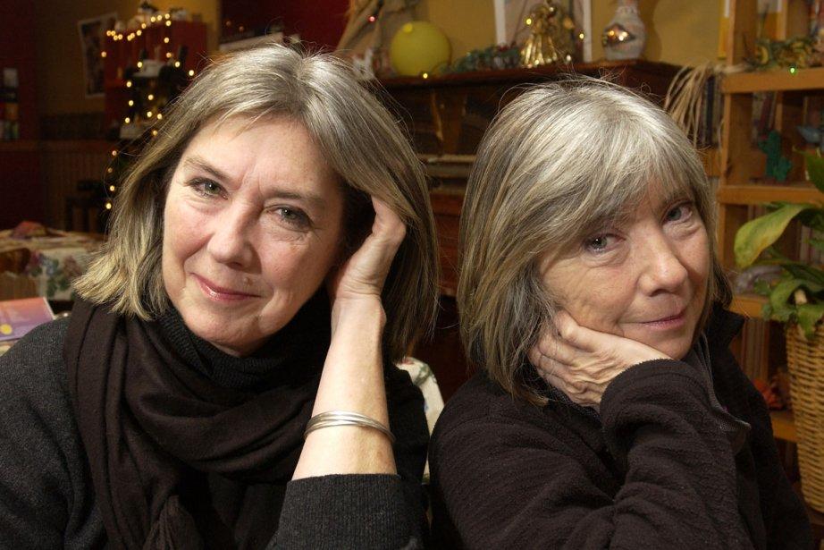 Kate (à gauhce) et Anna McGarrigle (à droite).... (Photo Robert Mailloux, La Presse)