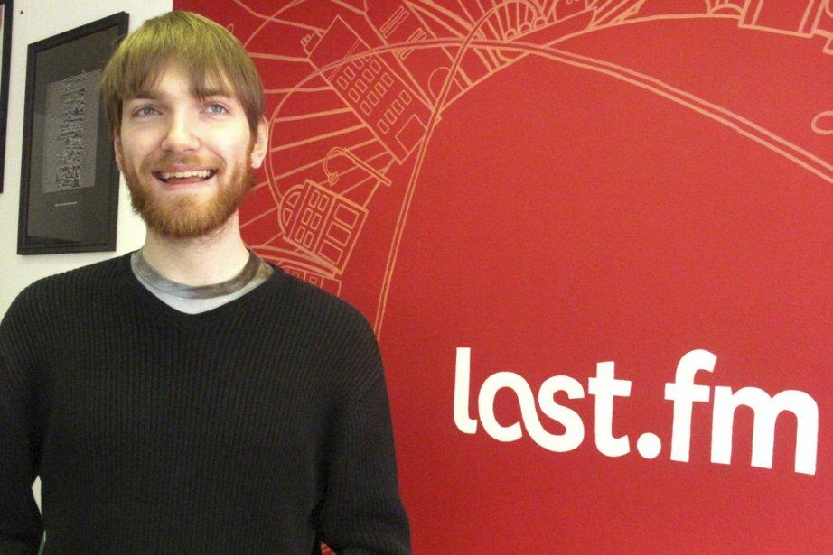 Matthew Sheret, de la radio personnalisée Last. fm,... (Photo Mali Ilse Paquin, collaboration spéciale)