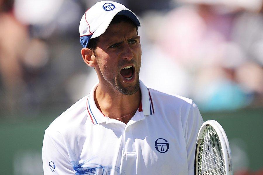 Novak Djokovic a eu besoin de trois manches... (Photo: AFP)