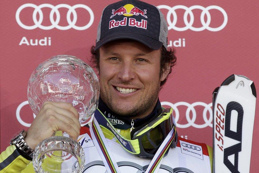 Le Norvégien Aksel Lund Svindal a remporté le... (Photo: Reuters)