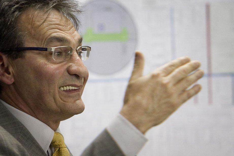 Richard Bergeron, chef de Projet Montréal.... (Photo Marco Campanozzi, La Presse)