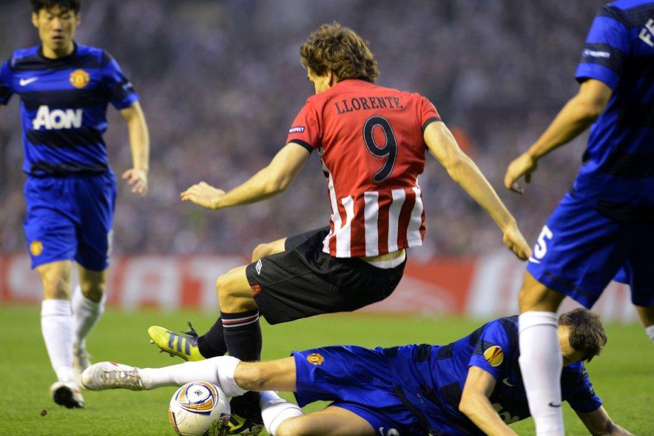 Fernando Llorente a compté le premier but pour... (Photo : Felix Ordonez, Reuters)